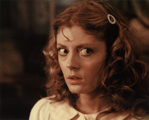 Actress Susan Sarandon (Janet) caught what illness while filming?